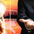 Energy businessconcept - Stock Photo