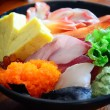 Sashimi close up — Stock Photo