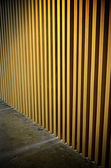 Abstract lath wall with lighting effect — Stockfoto