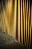 абстрактный планка стена с освещение эффект — Стоковое фото