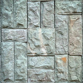 Stone tile pattern on wall — Stock Photo