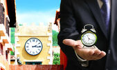 Time to set the clock, Time zone — Stock Photo