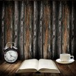 Time to read concept — Foto de Stock