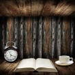 Time to read concept — Stock Photo #21454247