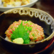 Japanese cuisine, Rice with Maguro minced fish — ストック写真 #22235085