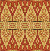 Vintage traditional Thai style art pattern — Stock Photo
