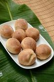 Kulatý chléb — Stock fotografie