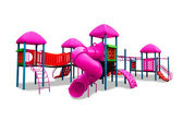 Children's playground isolated — Stok fotoğraf