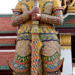 Thai giant sculpture — Stock Photo