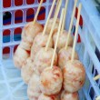 Thai Fermented Sausages from the Northeast, Isaan Sausages — Stock Photo