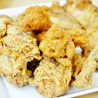 Crispy fried chicken — Stock Photo