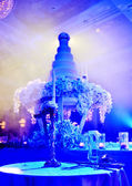 Wedding candlestick in wedding ceremony — Stock Photo