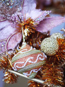 Christmas ornament decoration — Stok fotoğraf