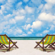 Beach chairs — Stock Photo #36753813
