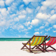 Beach chairs — Stock Photo #36753853