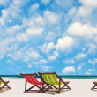 Beach chairs — Stock Photo #36759529