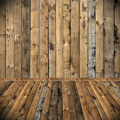 Wooden texture background, Room interior decorate — Stock Photo