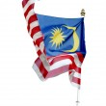 Flag of Malaysia isolated — Stock Photo #38700405