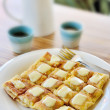 Roti with cheese — Stock Photo #40662695