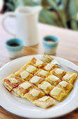 Roti with cheese — Stockfoto