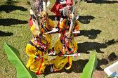 Chiang mai, tajlandia - 5 grudnia: tradycyjne wydarzenie manau plemienia kachin w kultu boga i chcą król tajlandii na 5 grudnia 2012 w banmai samahki, chiang dao, chiang mai, tajlandia — Zdjęcie stockowe