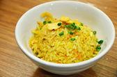 Garlic rice — Stock Photo