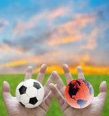 Football world cup concept — Stock Photo