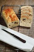 Хлеб изюминки — Стоковое фото