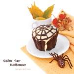 Decorated Halloween Cupcake — Stock Photo #12077040