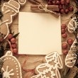 Christmas decoration with paper — Foto de Stock