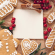 Christmas decoration with cookies — Stock Photo #16500241