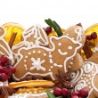 Christmas cookies and spices - Stock Photo
