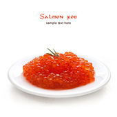 Salmon caviar — Stock Photo