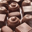 Different chocolate candies — Stock Photo #22299389