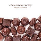 Different chocolate candies — Stock Photo
