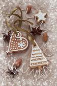 Ciasteczka świąteczne — Zdjęcie stockowe