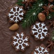 Christmas cookies — Stock Photo #35041871