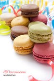 Colorful French Macarons — Stock Photo