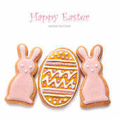 Set from Easter cookies — Stock Photo