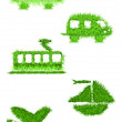 Ecological transportation — Stockfoto
