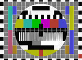Test pattern — Stock Photo