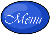 Menu icon — Stock Photo