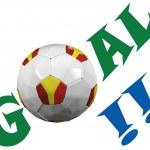 Soccer team — Stock Photo #28698931