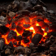Live coal — Stock Photo