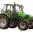Green farm tractor — Foto de stock #30623539