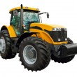 Yellow farm tractor — Stock Photo #30623547