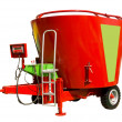 Stock Photo: Mixer-wagon