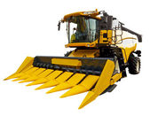 New agricultural harvester — Stock Photo