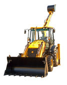New excavator — Stock Photo
