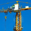 Stock Photo: High-rise crane
